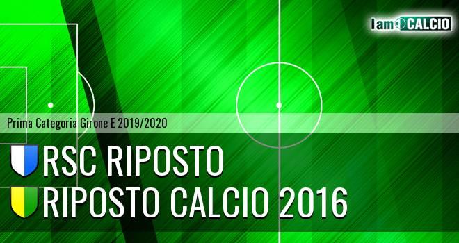 RSC Riposto - Riposto Calcio 2016