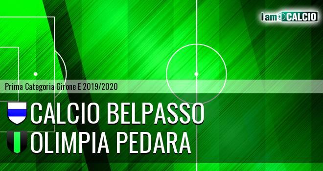 Calcio Belpasso - Olimpia Pedara