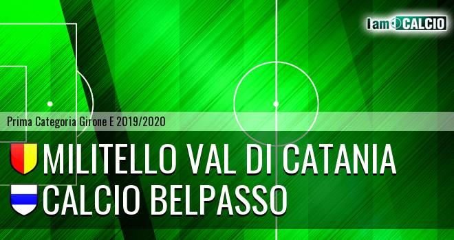 Militello Val di Catania - Calcio Belpasso