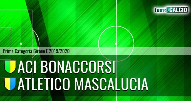 Aci Bonaccorsi - Atletico Mascalucia