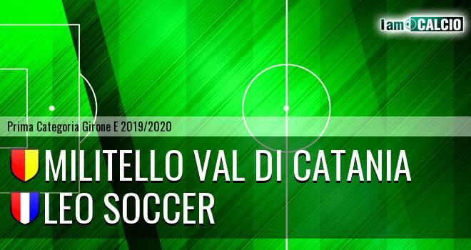 Militello Val di Catania - Leo Soccer