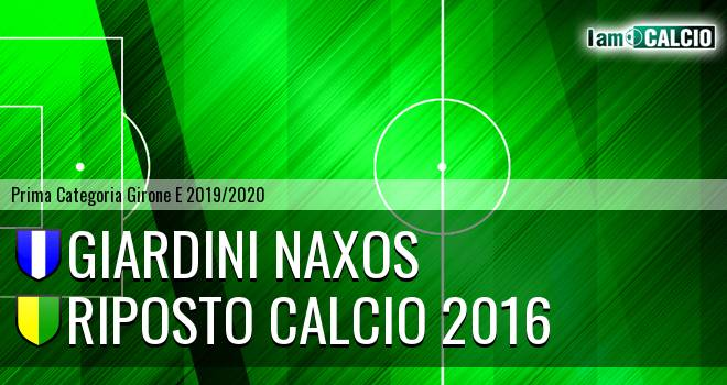 Giardini Naxos - Riposto Calcio 2016
