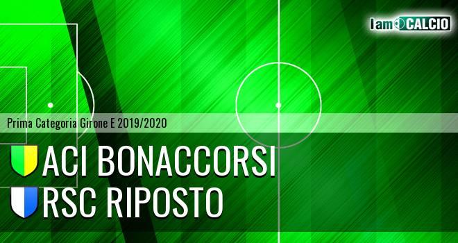 Aci Bonaccorsi - RSC Riposto