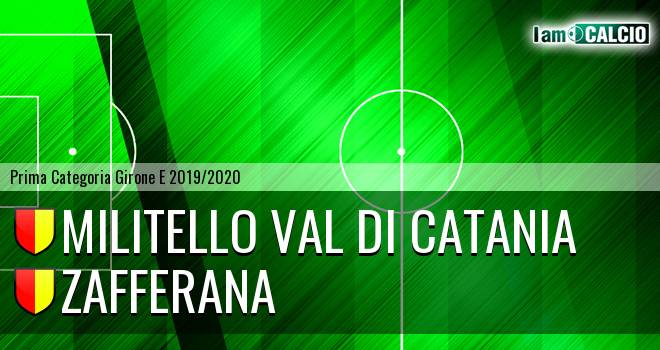 Militello Val di Catania - Zafferana