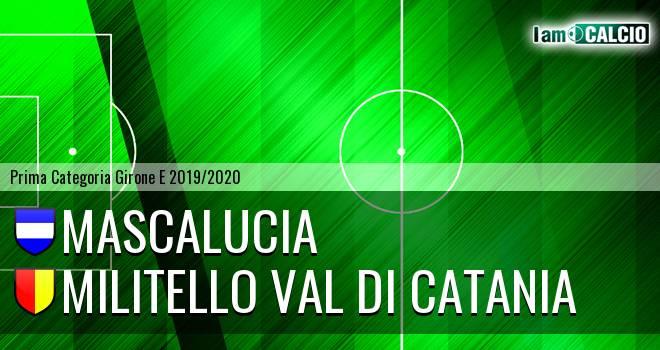 Mascalucia - Militello Val di Catania