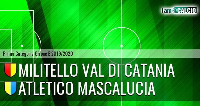 Militello Val di Catania - Atletico Mascalucia