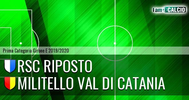 RSC Riposto - Militello Val di Catania