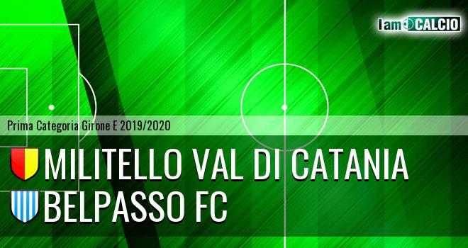 Militello Val di Catania - Belpasso FC