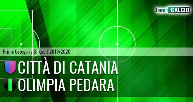 Città di Catania - Olimpia Pedara