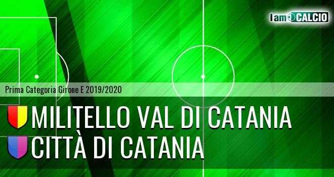 Militello Val di Catania - Città di Catania