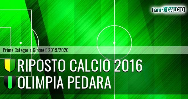 Riposto Calcio 2016 - Olimpia Pedara
