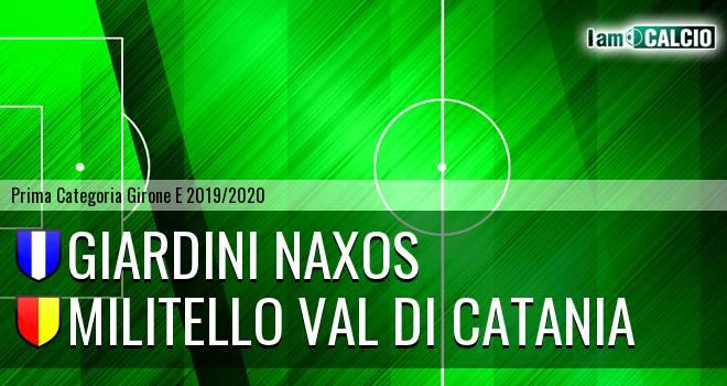 Giardini Naxos - Militello Val di Catania