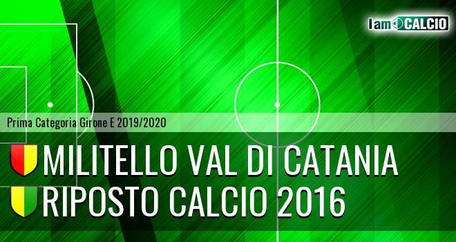 Militello Val di Catania - Riposto Calcio 2016