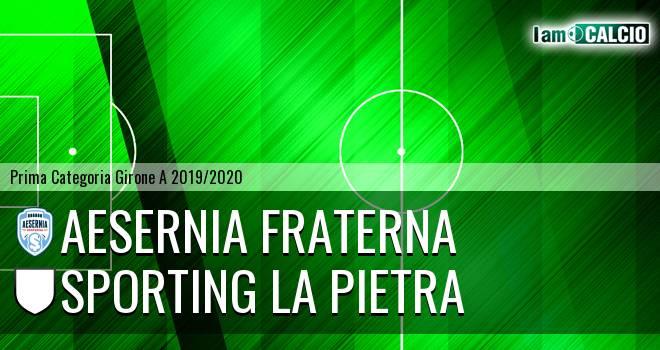 Aesernia Fraterna - Sporting La Pietra
