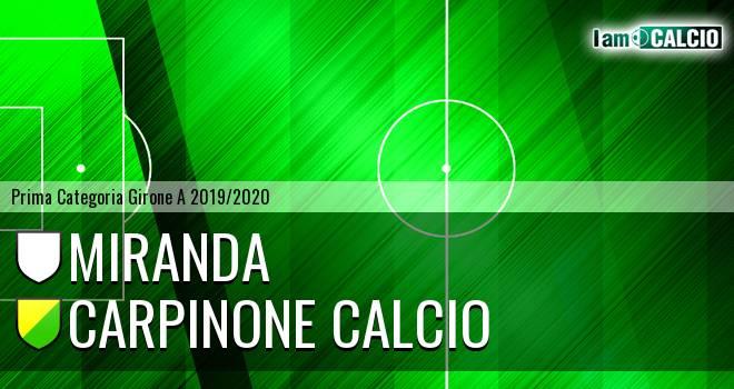 Miranda - Carpinone Calcio
