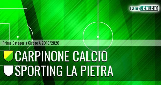 Carpinone Calcio - Sporting La Pietra