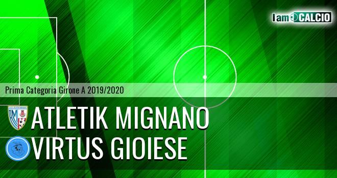 Atletik Mignano - Virtus Gioiese