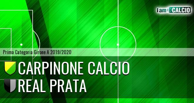 Carpinone Calcio - Real Prata