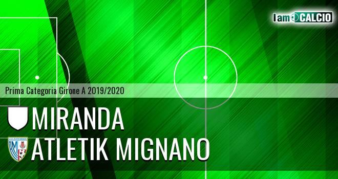 Miranda - Atletik Mignano