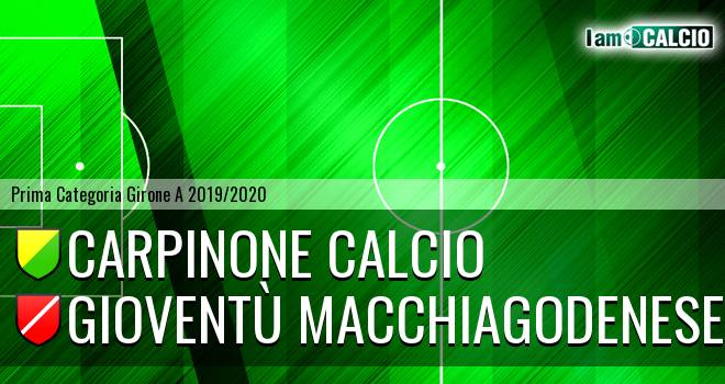 Carpinone Calcio - Gioventù Macchiagodenese