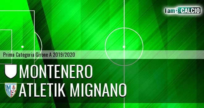 Montenero - Atletik Mignano