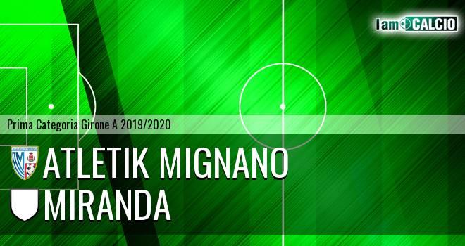 Atletik Mignano - Miranda