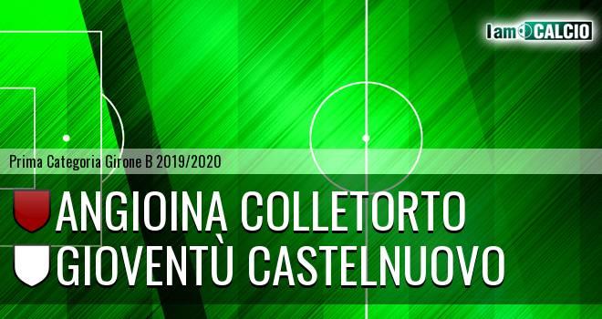 Angioina Colletorto - Gioventù Castelnuovo