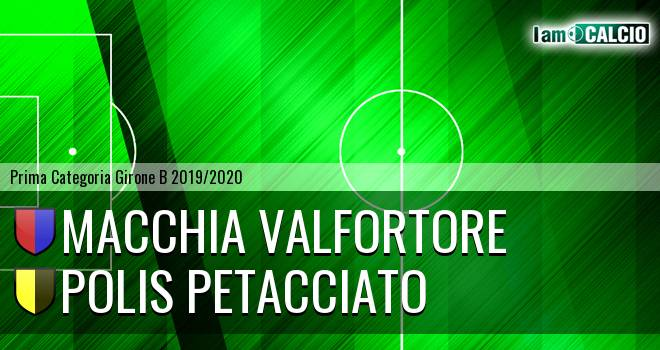 Macchia Valfortore - Polis Petacciato