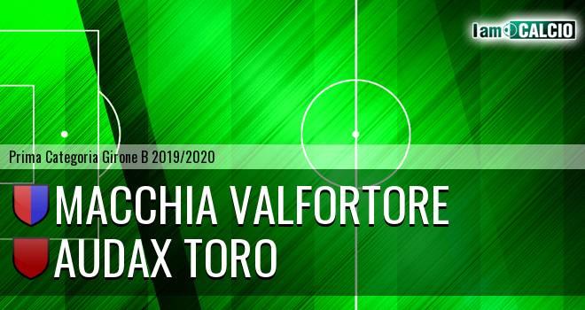 Macchia Valfortore - Audax Toro