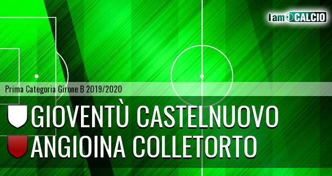 Gioventù Castelnuovo - Angioina Colletorto