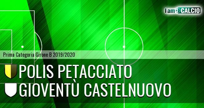 Polis Petacciato - Gioventù Castelnuovo