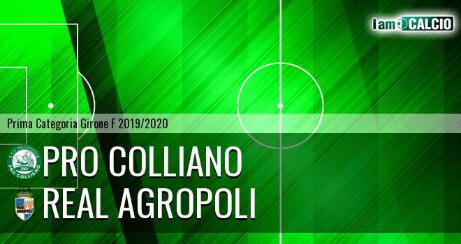 Pro Colliano - Real Agropoli