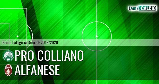 Pro Colliano - Alfanese