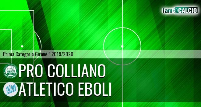 Pro Colliano - Atletico Eboli