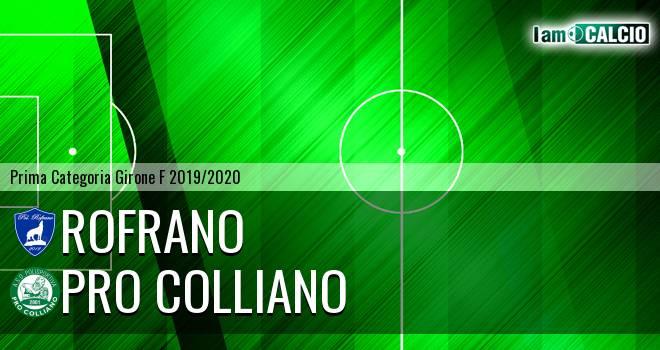 Rofrano - Pro Colliano