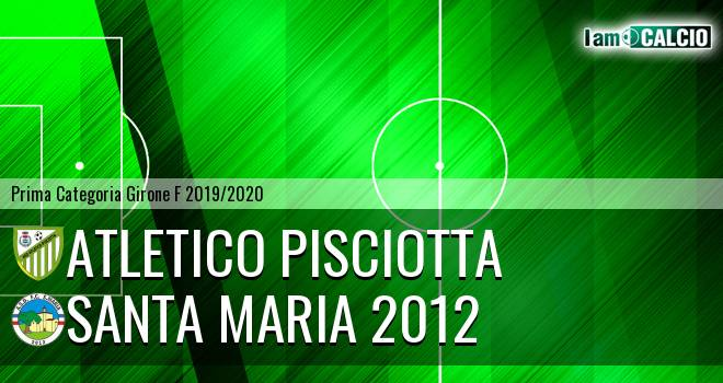 Atletico Pisciotta - Santa Maria 2012