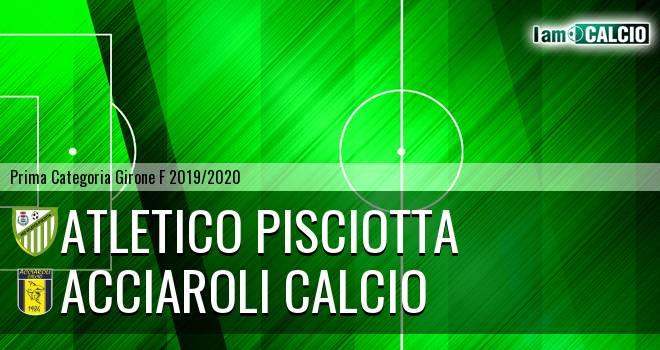 Atletico Pisciotta - Acciaroli calcio