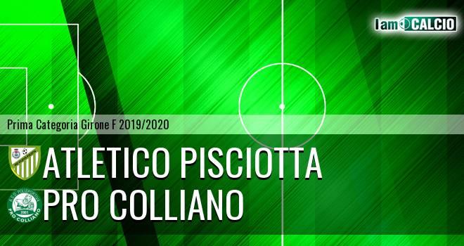 Atletico Pisciotta - Pro Colliano