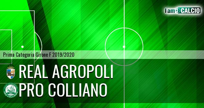 Real Agropoli - Pro Colliano
