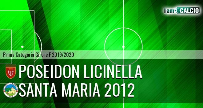 Poseidon Licinella - Santa Maria 2012