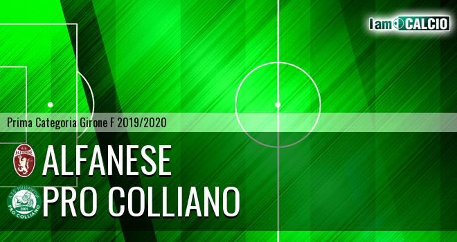 Alfanese - Pro Colliano