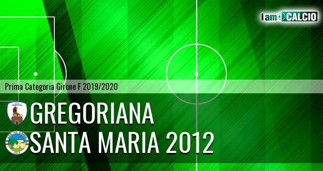 Gregoriana - Santa Maria 2012
