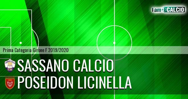Sassano Calcio - Poseidon Licinella