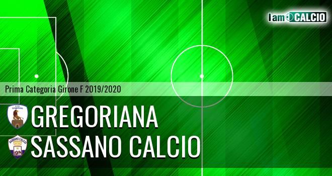 Gregoriana - Sassano Calcio