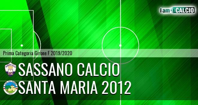 Sassano Calcio - Santa Maria 2012