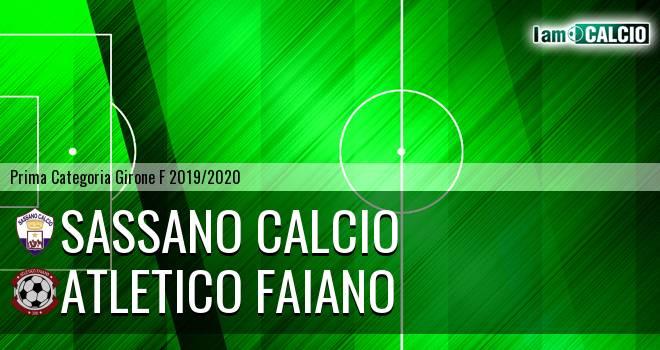 Sassano Calcio - Atletico Faiano