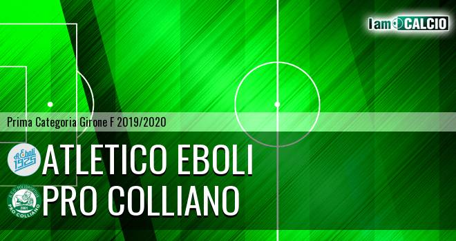 Academy Ebolitana - Pro Colliano