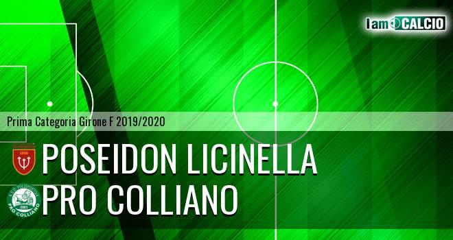 Poseidon Licinella - Pro Colliano