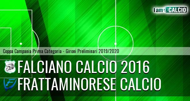 Falciano Calcio 2016 - Frattaminorese Calcio