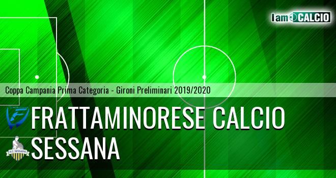 Frattaminorese Calcio - Sessana